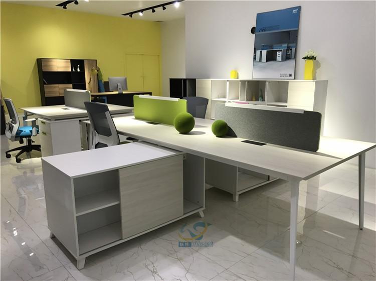 Demontabele hout kantoor partitie nieuwe ontwerp voor antieke