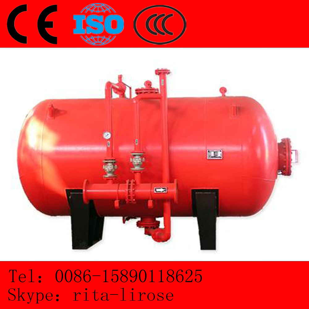Fire fighting PHYM bladder foam tank,fire fighting equipment