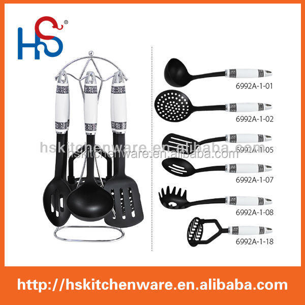 new design high quality products kitchen utensil HS6992A as seen tv/cookware items