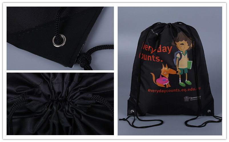 Best Price Promotional Travel Small Mesh Nylon Drawstring Bag
