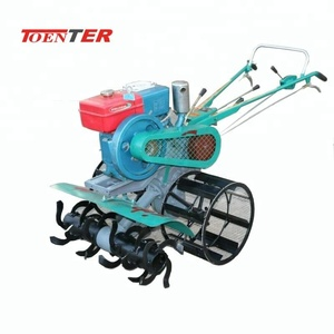 Manual walking power rotary tiller with low price