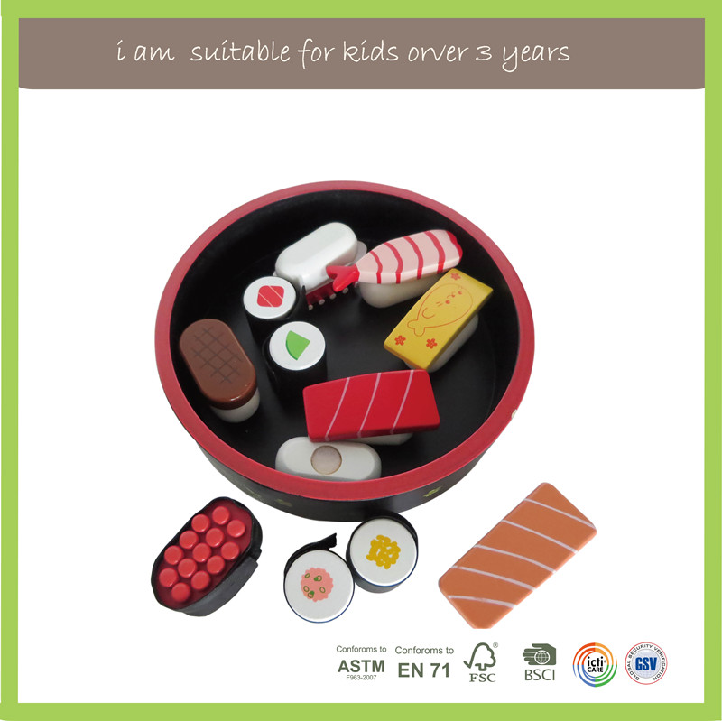 Wholesale New Design Wooden Toy Food Sets