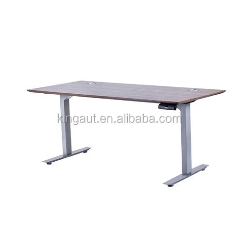 sit up two leg height adjustable hydraulic lift desk for office