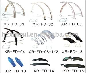 high quality bicycle part fender and saddle