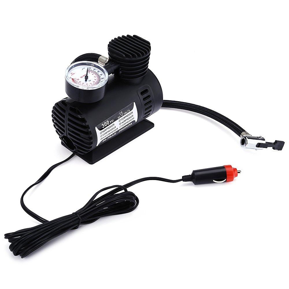 DIDEMI car charging pump car pump air pump mini convenient Car Tyre Air Compressor Portable 12V Auto Car Electric Air Compressor Tire Infaltor Pump 300 PSI XR