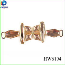 HW6194 glass 2012 new style sandals shoes accesories