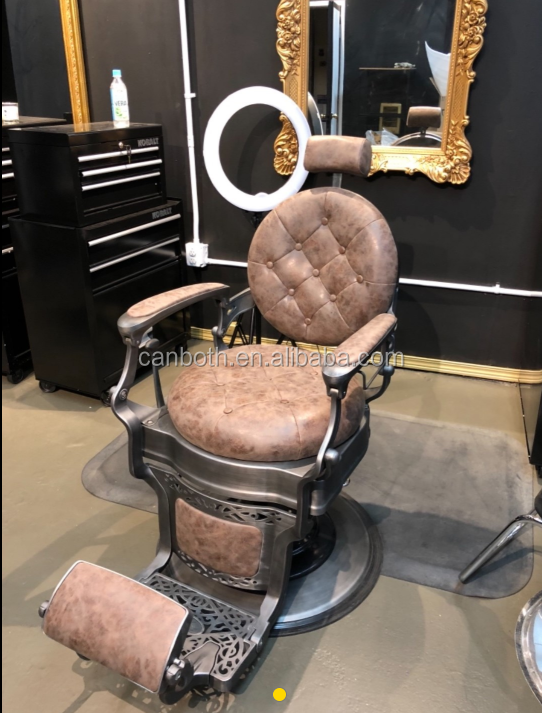 Üst satış antika kuaför koltuğu berber koltuğu satılık canboth cb-bc001