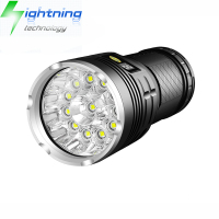 Aluminum 18650 Rechargeable Super Bright 15 CREE XML T6 L2 LED Torch Light Most Powerful LED Flashlight with Indicator