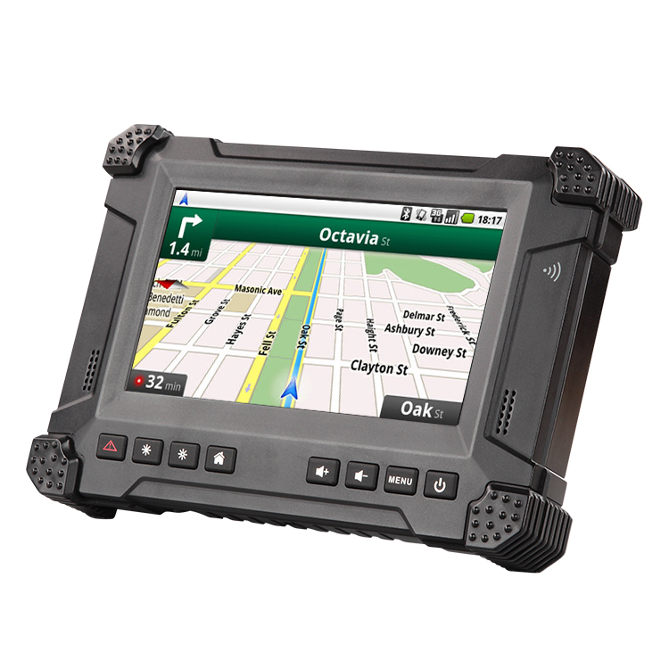 Waysion X7s New 7 Inch Ip54 Rugged Android 5 1 1 Mobile Data Terminal Mdt  For Embedded Ticketing System - Buy Mobile Data Terminal,Mdt,Embedded