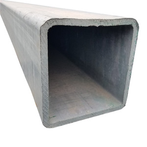 Hot selling galvanized steel pipe welded carbon square pipe