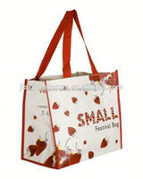 trendy shopping bag with custom print,OEM orders arewelcome