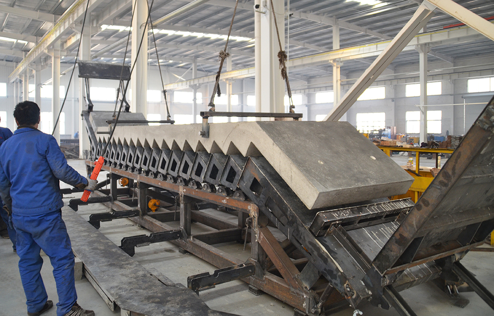 Precast Concrete Stairs Molds Production Line Manufacture