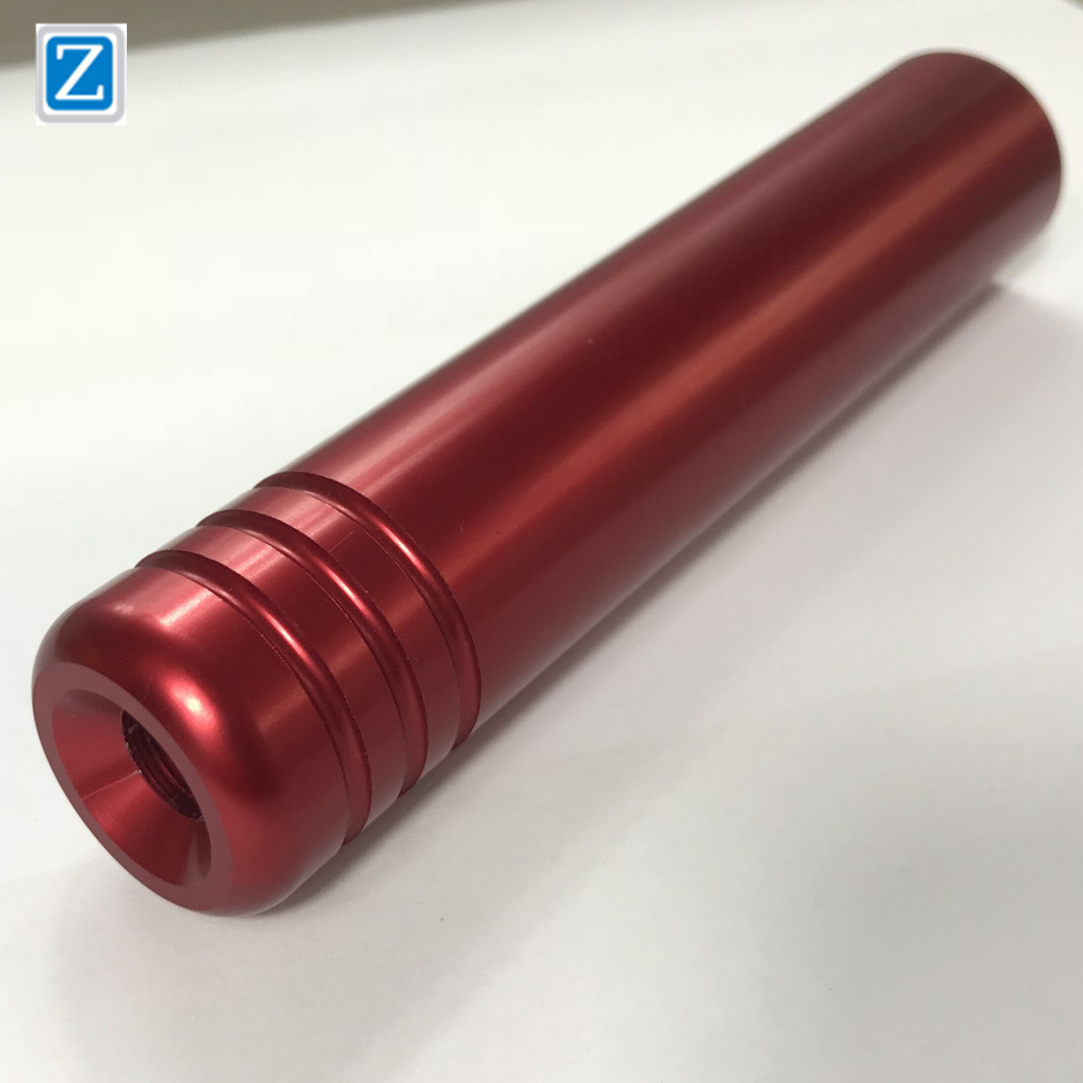 6061-T6 Aluminum Red Matt And Bright Anodized Custom Turning Milling CNC Machining Parts