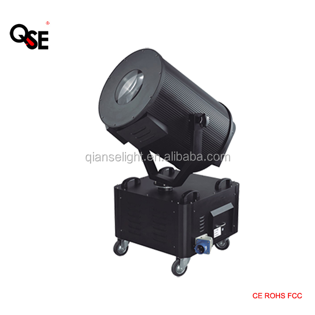 2500w xenon outdoor sky rose sky tracker light beam