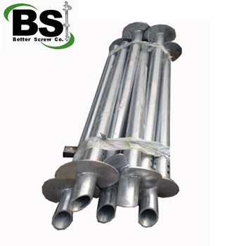 Concrete Helical Piles Brackets Amp Accessories For Building