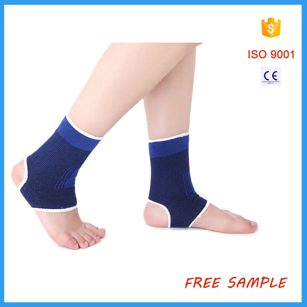 Lightweight adjustable elastic ankle support, ankle wraps, ankle brace