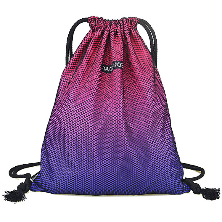 3170e90d87 China Manufacturer Custom Cheap Waterproof Polyester  strong Sports  strong   Drawstring Bag