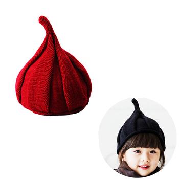 5f5f4a29 Bebé niño niña de invierno de punto de ganchillo sombrero gorra con oreja  protección ...