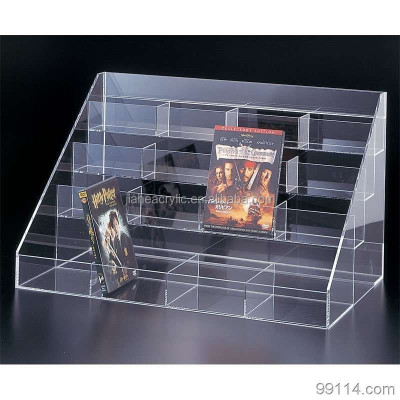 retail dvd display stands acrylic display stand