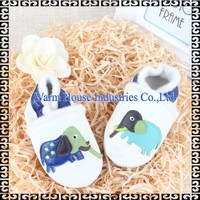 Baby moccasins soft newborn leather shoes 2017