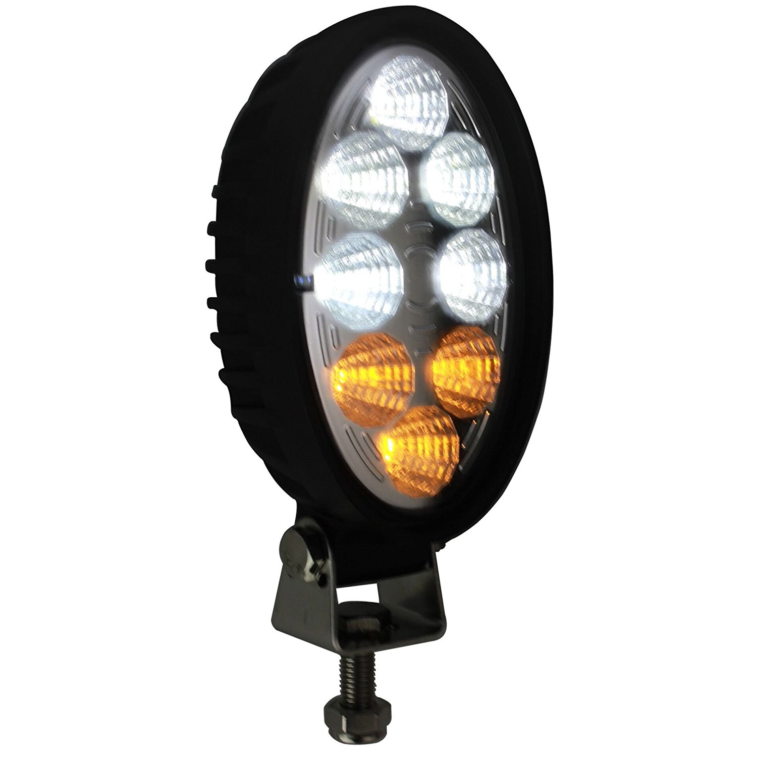 Forklift Truck LED Waring Lights Turn Signal Alert Pedestrians And Other Vehicles (White/Amber)