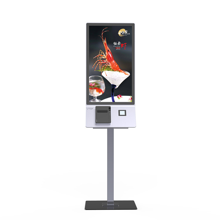 Promotional Price Wall Mounted Payment Ticketing Touch Screen Kiosk For Hospital
