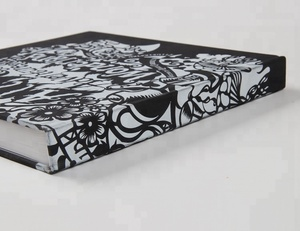 Section Sewn Comic painting Book with EVA silkscreen printing cover