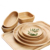 Good quality engraving and handmade round wooden serving tray
