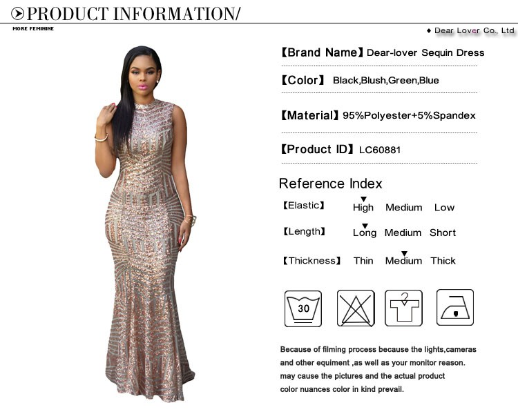 Detail Feedback Questions about DearLover New Arrival Blush Sequins ... 05b6f77d1ec5