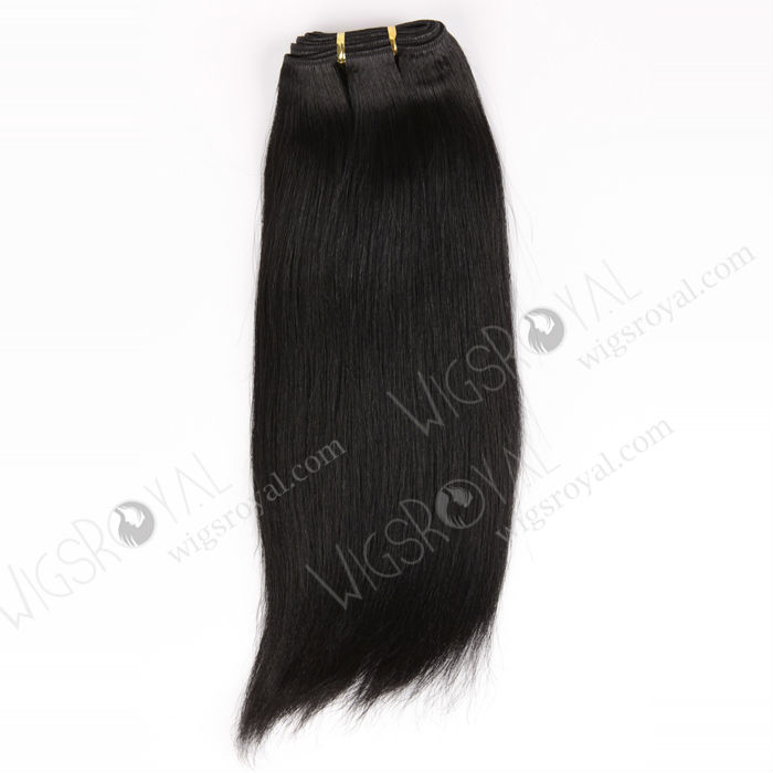 top quality 5a grade 1# jet black yaki straight 100% unprocessed wholesale Malaysian virgin hair weave