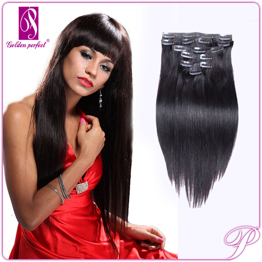 26 Inch Black Cherry Indian Remy Clip In Weave Hair Extensions Buy