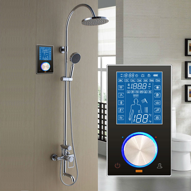 Digital Shower Cubicle Temperature Control Panel