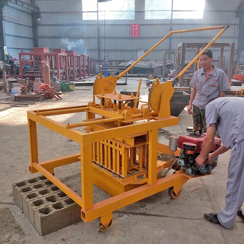 4-45 Concrete Block Making Machine Or Diesel Engine - Buy