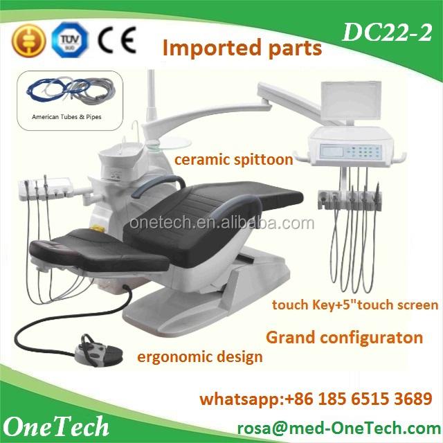 Nuova Sedia Mobile Dentale per Dentista Medico Sgabello PU Leather Clinic Equipment Rosa