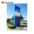 outdoor gas station led sign display