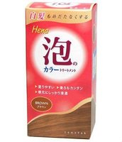 Henna coloring foam Made in Japan Non silicon and Non flavor
