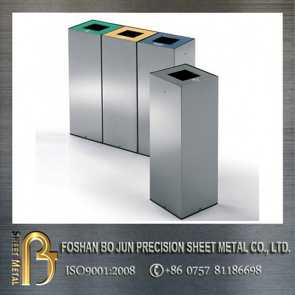 Custom high quality manufactuer metal clothing bin