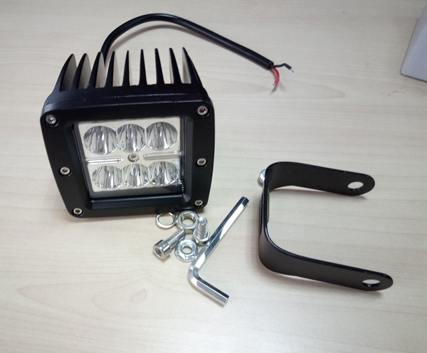 5 pack 18w car led work light high quality 12V/24V Led offroad work light