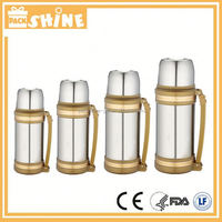 Stainless Steel Travel Mug With Soft Handle,Large Capacity,Heat/Cold Insulation Of Long Time