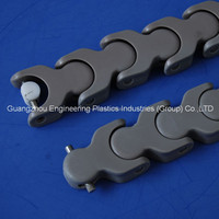 Molding injection plastic chain mold Delrin plastic conveyor chain