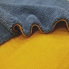 Polar Fleece and velvet fabrics bonded 100% polyester plain dyed brushed pile upholstery velvet fabric