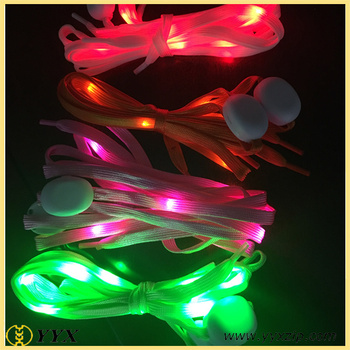 glow in the dark lighting. Cool Glow In The Dark Light Up Flashing Shoelace Led With Battery For  Holidays Lighting
