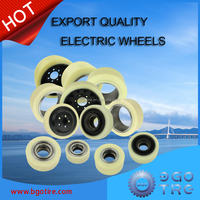 Forklift parts PU wheels for electric forklifts