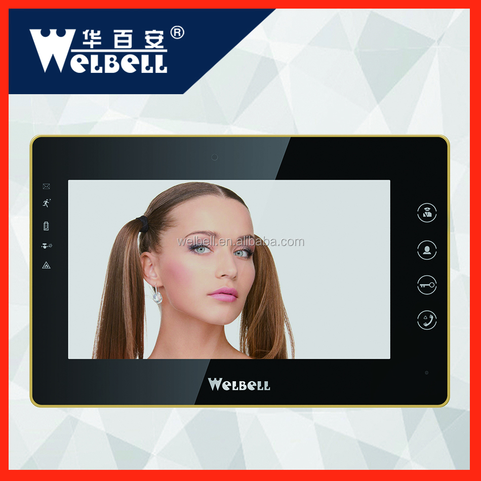 Factory Price X5 Analog Cable 485 Video Intercom System For Bulidings