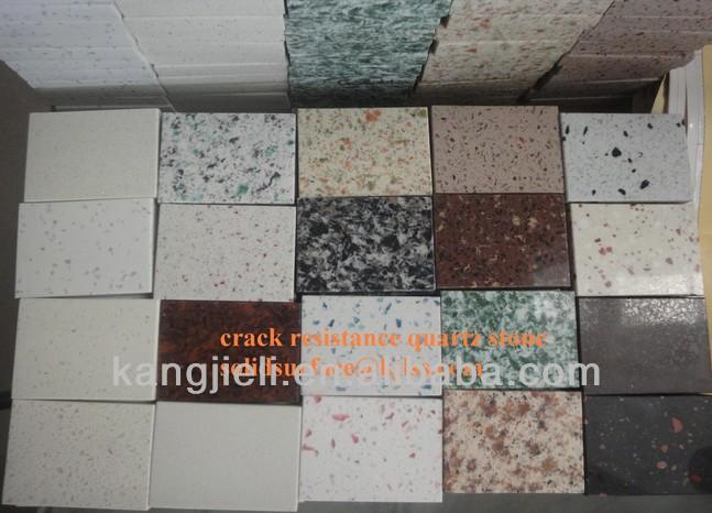 Homochromy f brica pre o barato cor silestone quartzo for Granito artificial