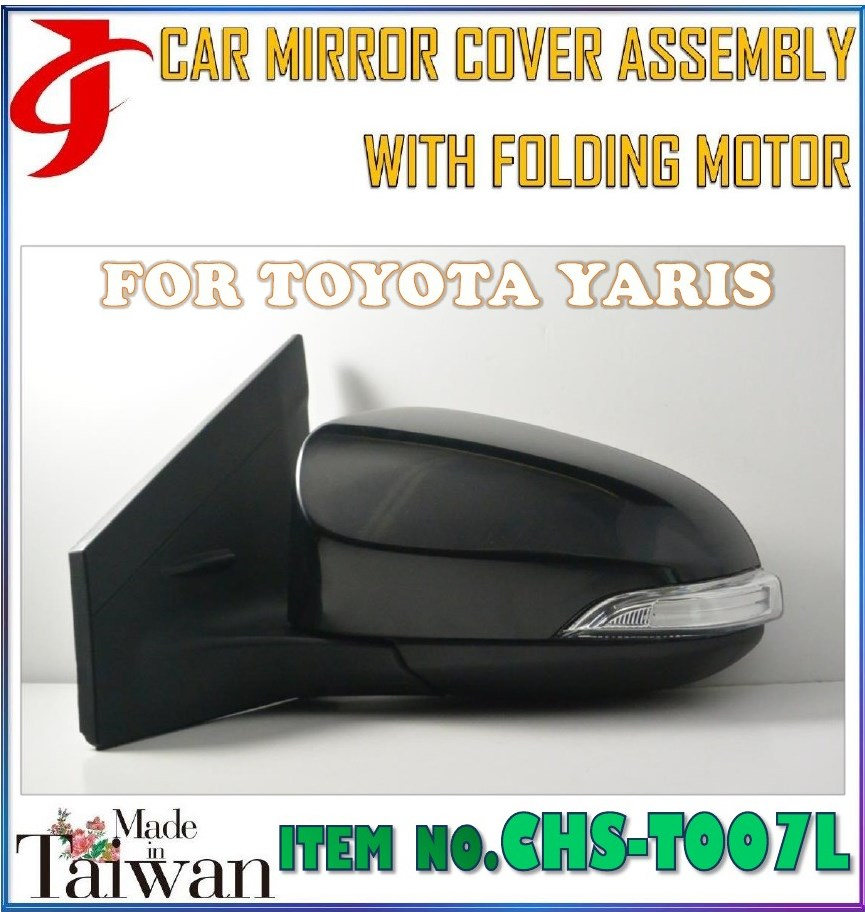 Body Kit MIRROR COVER ASSEMBLY FOLDING MOTOR FOR TOYOTA YARIS Mirror Assy