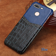 LANGSIDI brand phone case crocodile pattern and wax leather mixed color half pack phone case For Gionee S10 custom processing