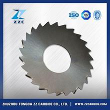Impact resistance tungsten carbide double cut off saw blades for panel sizing double end machines
