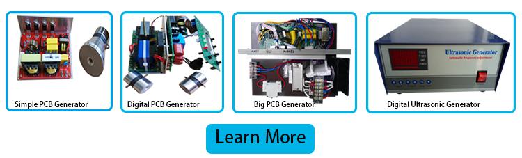फैक्टरी मूल्य Pzt4 थरथानेवाला सेंसर 40Khz अल्ट्रासोनिक सफाई के लिए 60w पीजो अल्ट्रासोनिक Transducer