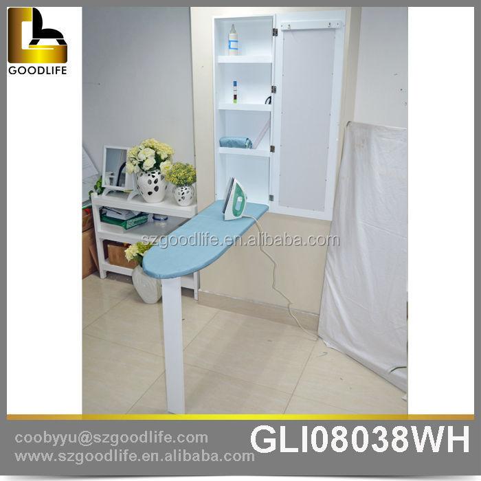 moderne wohnkultur faltbare spiegel wandhalterung schrank mit b gelbrett b gelbrett produkt id. Black Bedroom Furniture Sets. Home Design Ideas